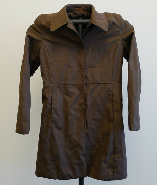 Kenneth Cole Reaction Women's Snap-Button Up Long Coat Size S Small