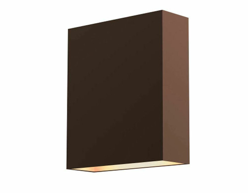 """Sonneman Flat Box 7"""" Tall Integrated LED Outdoor Wall Sconce 7107.71-WL OPEN BOX"""