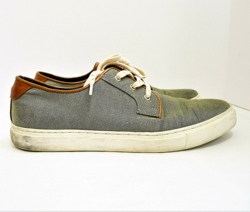 Tommy Hilfiger Men's Gray McKenzie 2 Casual Shoes Size 10.5 - TMMCKENZ2-F