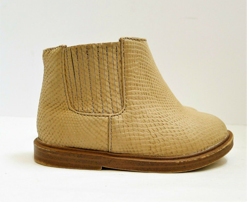 Zara Baby Tan Dream Big Ankle Boots Size 3.5 (Marked Euro Size 19)