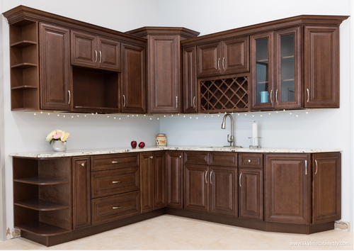 "Kitchen Wall Pantry Cabinets (Special Order) Solid 3/4"" Wood Cabinets w/soft close hinges"
