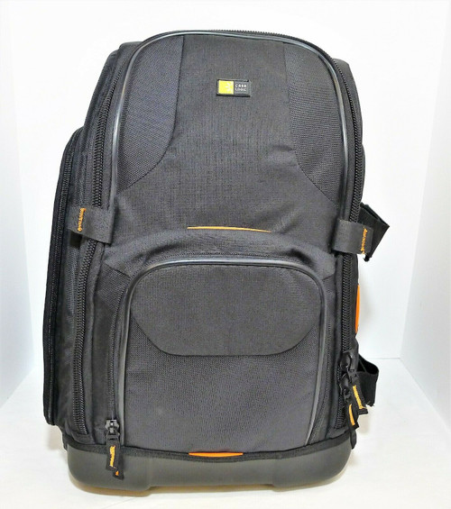 Case Logic Black SLR Camera/Laptop Backpack - with Velcro Inserts