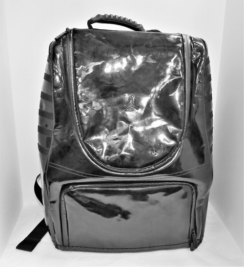 Air Jordan Black Patent Retro Backpack