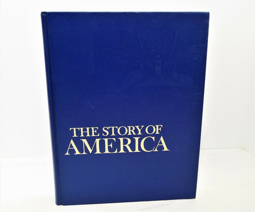 Vintage 1975 Reader's Digest The Story of America Hardback Book