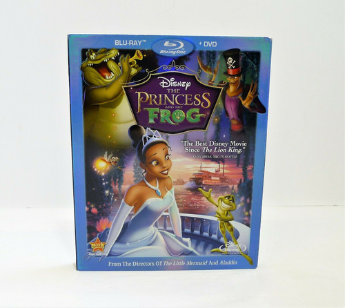 Disney The Princess and the Frog Blu-Ray Only - ** BLU-RAY ONLY - NO DVD