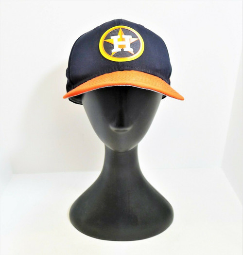 New Era Houston Astros Fitted Baseball Hat Cap Size 7 3/8