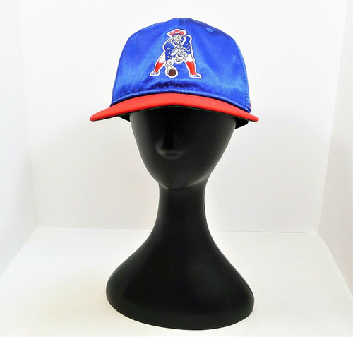 Nike Blue/Red New England Patriots Throwback Sideline Hat One Size Fits Most