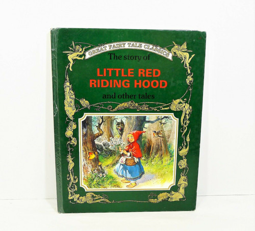 Golden Fairy Tale Classics Little Red Riding Hood Hardcover Book