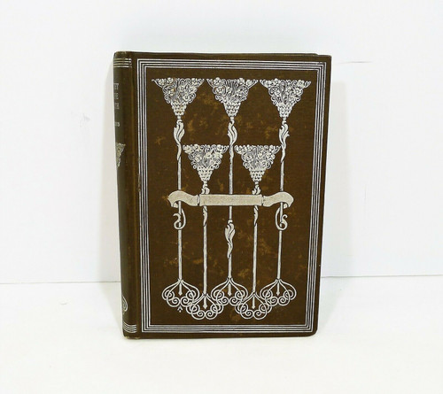 Antique Crickets on the Hearth Hardback Book by Dickens - Inscribed 1898