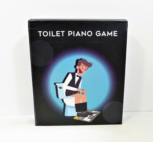 Toilet Piano Game - OPEN BOX - BATTERIES NOT INCLUDED