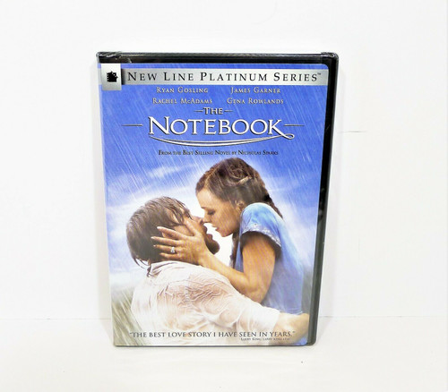 The Notebook New line Platinum Series DVD - NEW SEALED