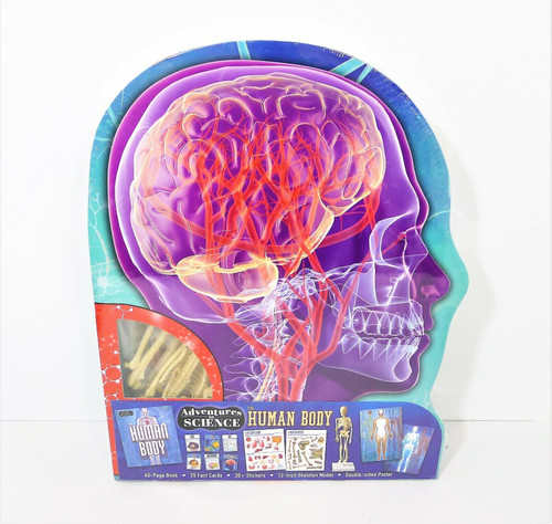 Adventures in Science The Human Body Set - NEW SEALED