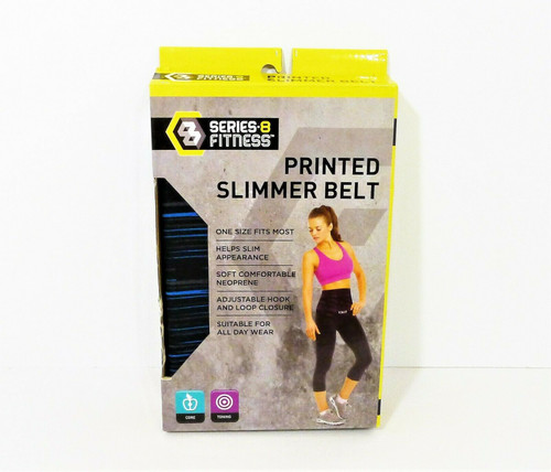 Series 8 Fitness Printed Slimmer Belt One Size Fits Most - OPEN BOX
