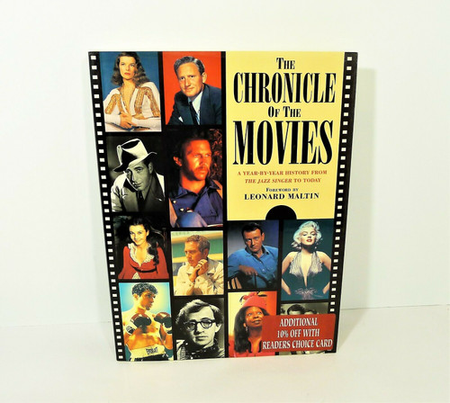 The Chronicle of the Movies Hardback Book
