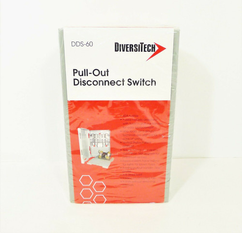 Diversitech DDS-60 Pull-Out Disconnect Switch - NEW SEALED
