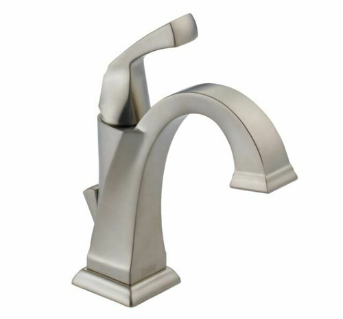 Delta Faucet Dryden Single-Handle Bathroom Faucet Stainless 551-SS-DST- OPEN BOX