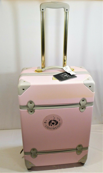 """DVF Studio Camella/Oyster Saluti 24"""" Hardside Spinner Luggage - **DISCOLORATION"""