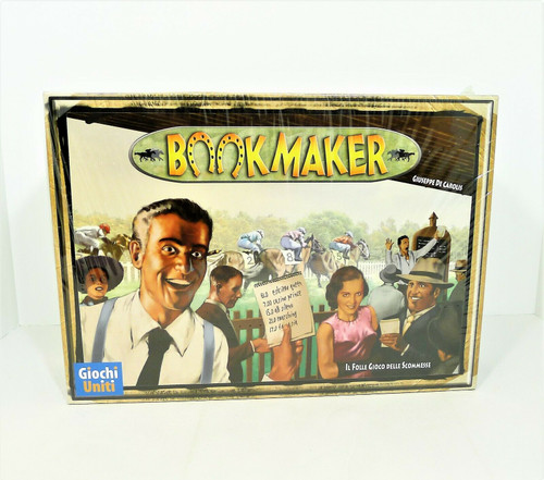 Bookmaker Board Game By Giochi Uniti - NEW SEALED