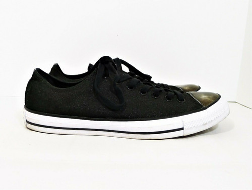 Converse Women's Black All Star Brush Low Top Tennis Shoes Size 11 - 553307F