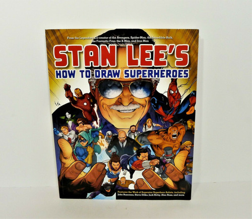Stan Lee's How to Draw Superheroes Paperback Book