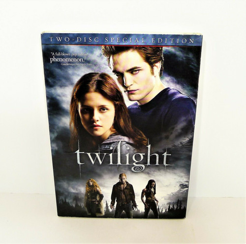 Twilight Two-Disc Special Edition DVD Set - NEW SEALED