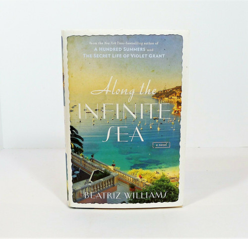Along the Infinite Sea Hardback Book - **SEE DESCRIPTION