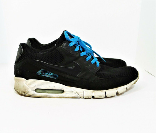 Nike Men's Black Air Max 90 Current Athletic Shoes Size 12.5 - 370101-001