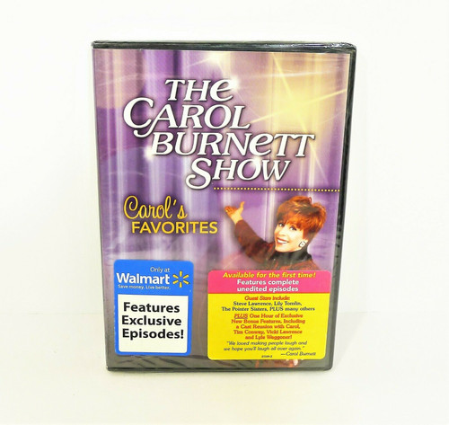 The Carol Burnett Show - Carol's Favorites DVD - NEW SEALED