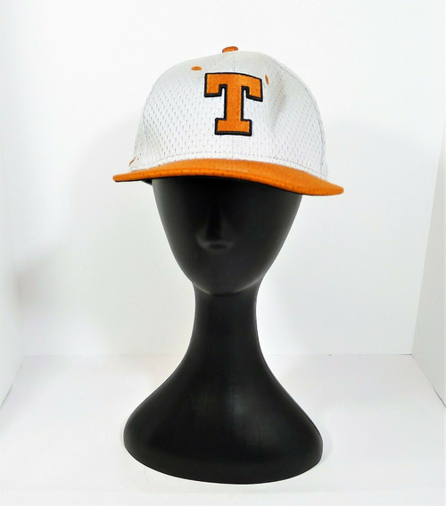 Nike True Dri-Fit Gray/Burnt Orange Texas Longhorns Fitted Cap Size 7 1/8
