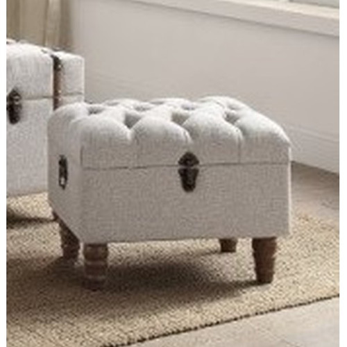 Sachi Storage Chair Only 4923SET-TAU (Local Pkup Only)