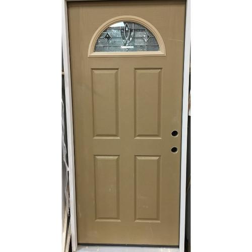 Half Moon Pre-Hung Panel Door (Local Pickup Only)