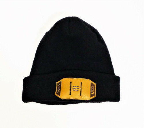 Coal Headwear Black The Standard SE Merino Beanie with Uco Patch