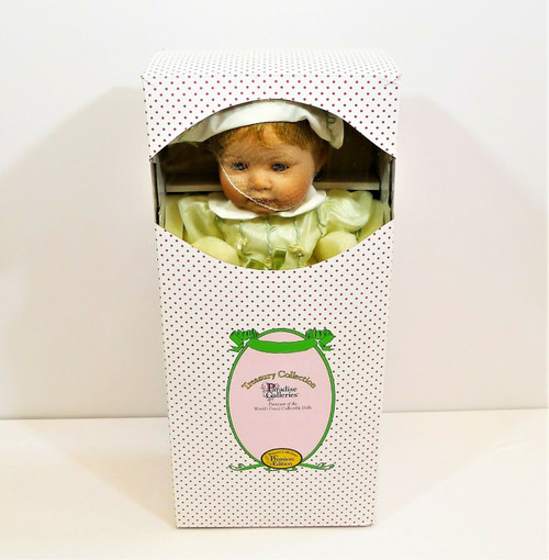 Paradise Galleries Catherine My Little Miracle Porcelain Doll - NEW *BOX WORN