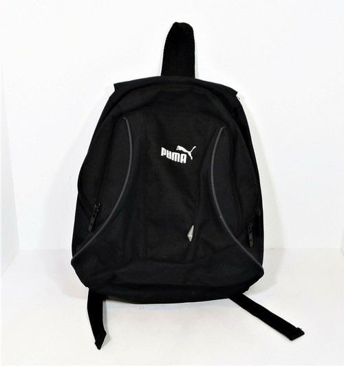 Puma Black Mini Backpack