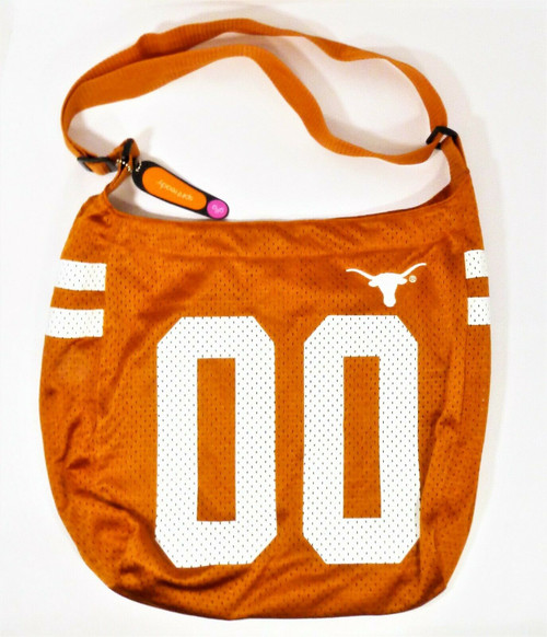 Spirit Ready Burnt Orange Texas Longhorn Jersey Purse - New with Small Defect?