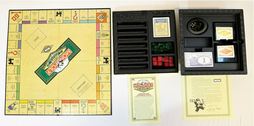 Monopoly 60th Anniversary Edition Board Game w/ Certificate COMPLETE/INCOMPLETE?