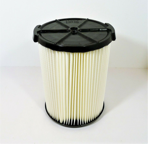 Rigid (1) Standard Filter for Wet/Dry Vacs VF4000 (5-20 Gal /18-75 L )- OPEN BOX