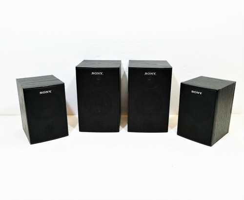 Set of 4 Sony Bookshelf Speaker System SS-SRP7000 (Includes R, L, SR and SL)