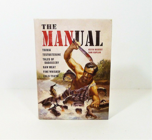The MANual Hardback Book Trivia and More by Keith Riegert and Sam Kaplan
