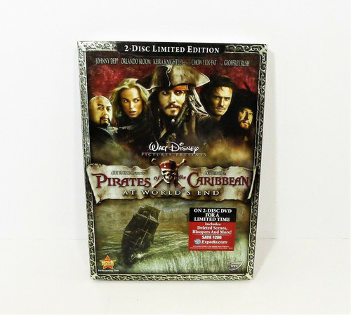 Pirates of the Caribbean 3 At World's End DVD Limited Edition - NEW SEALED