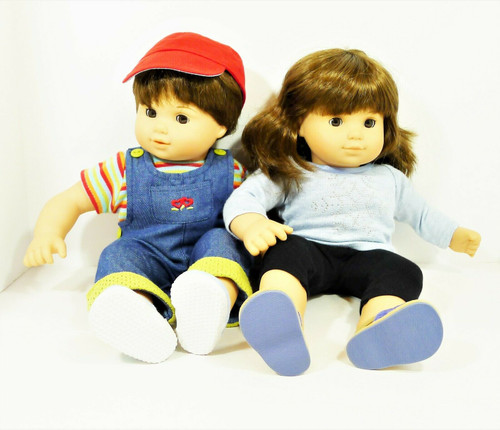 American Girl Bitty Baby Collection Brunette Toddler Twins (Girl/Boy) Retired