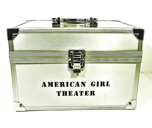 American Girl Theater Marisol Silver Performance Storage Travel Trunk Case