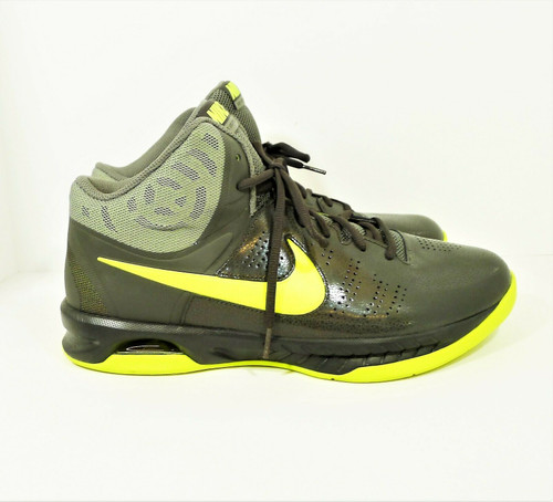 Nike Men's Gray/Green Air Visi Pro Vi Size 12 Athletic Shoes - 749167-200