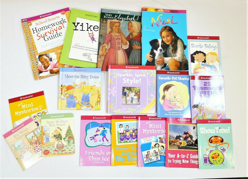 Lot of 19 American Girl Assorted Books **MISSING MUSIC CD