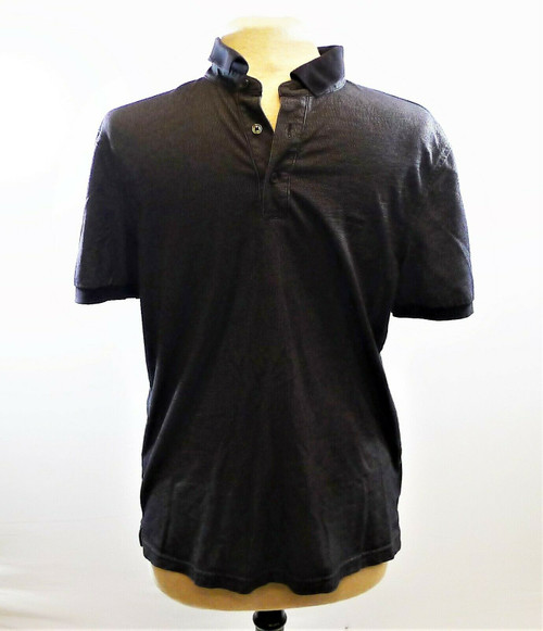 Michael Kors Men's Black Polo Shirt Size M
