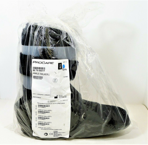 PROCARE Ankle Walker Boot Left or Right Foot - OPEN PACKAGE
