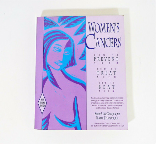 Women's Cancers Paperback Book - How to Prevent, Treat and Beat Them
