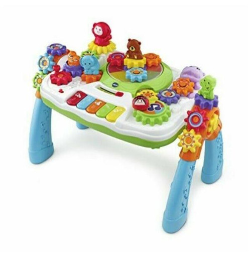 VTech GearZooz 2-in-1 Jungle Friends Gear Park - OPEN BOX