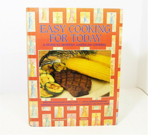 Easy Cooking For Today Hardcover Book by Pol Martin - ***SEE DESCRIPTION