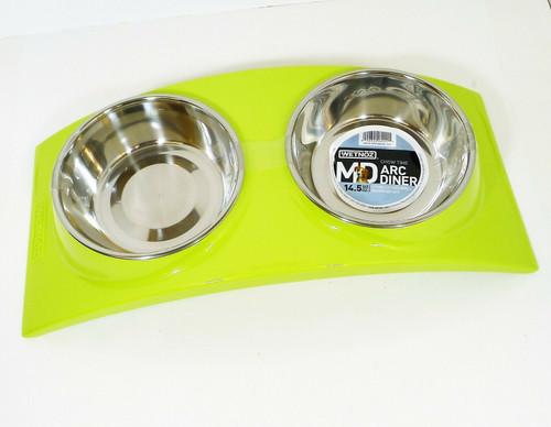 Wetnoz Pear Arc Diner for Pets Medium 23902 - NEW